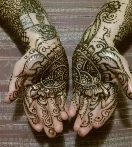 Henna crop